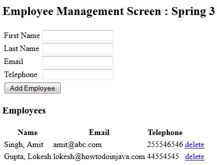 Spring hibernate integration example - HowToDoInJava
