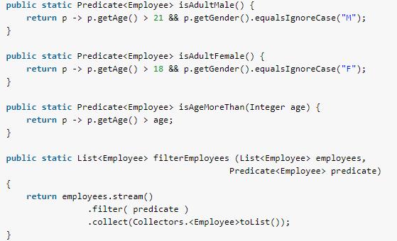 Java Predicate Example - Predicate Filter - HowToDoInJava