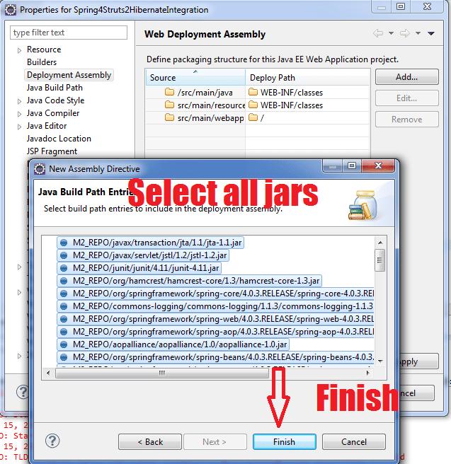 Select all jars