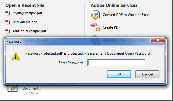 PasswordProtected Pdf file