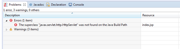 Java Build Path Error