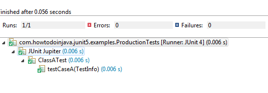JUnit 5 @Tag Example - Production Tests