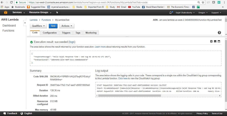 AWS Lambda Function Example - HowToDoInJava