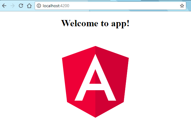 Angular Hello World in Browser