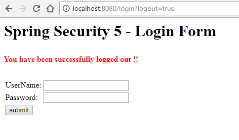 Spring Security 5 Login Form Example - HowToDoInJava