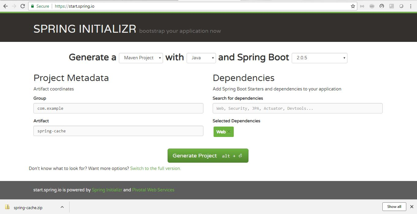 Spring Boot Project Creation