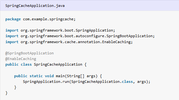Spring boot caching tutorial with example - HowToDoInJava