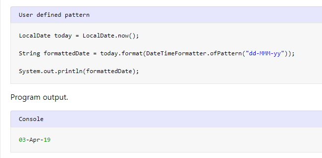 LocalDate format() - Convert LocalDate to String - HowToDoInJava