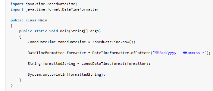 Format ZonedDateTime to String in Java 8 - HowToDoInJava