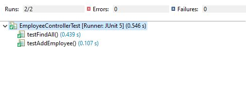 Spring rest controller unit test example